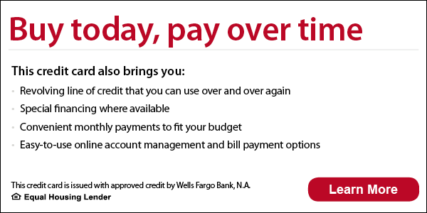 Financing With A Carrier Credit Card From Wells Fargo E A C
